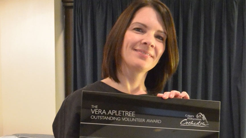 2013/2014 Vera Apletree Outstanding Volunteer Recipient: Kimberly LeMaire