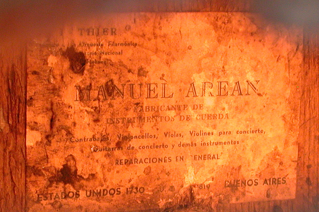 Label on lower block