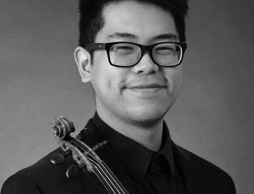 Meet the Musician: Violinist Edmund Chung