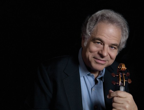 Heather Edwards brings Itzhak Perlman to the Calgary Philharmonic Orchestra