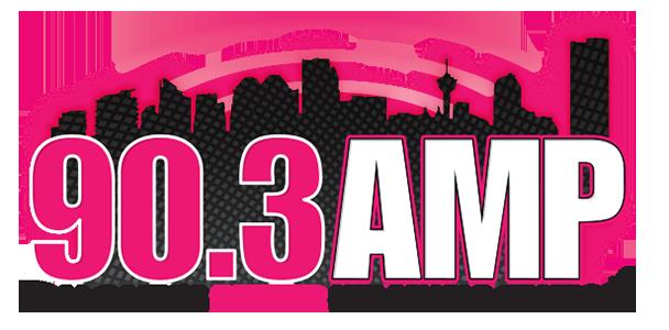 Logo: 90.3 amp