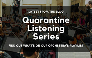Quarantine Listening Blog Series Promo