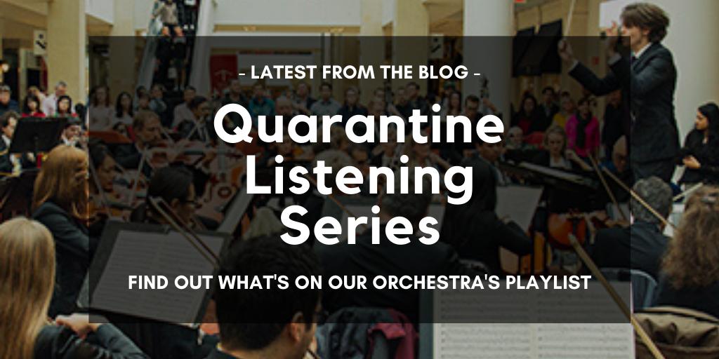 Quarantine Listening Blog Series Promo
