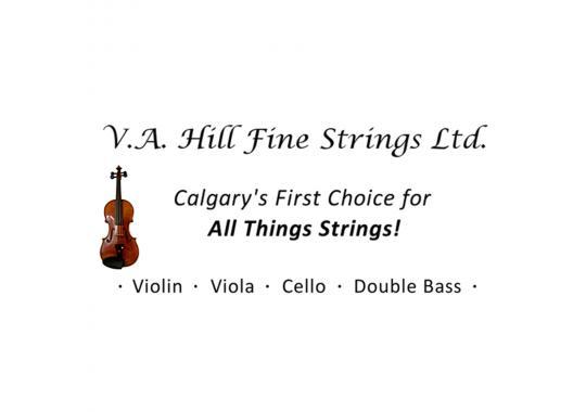 Logo: VA hill fine strings
