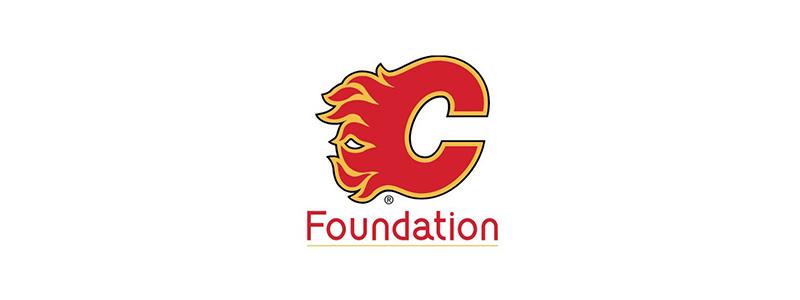 Logo: Calgary flames foundation