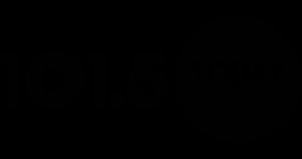 Logo: today radio 101.5