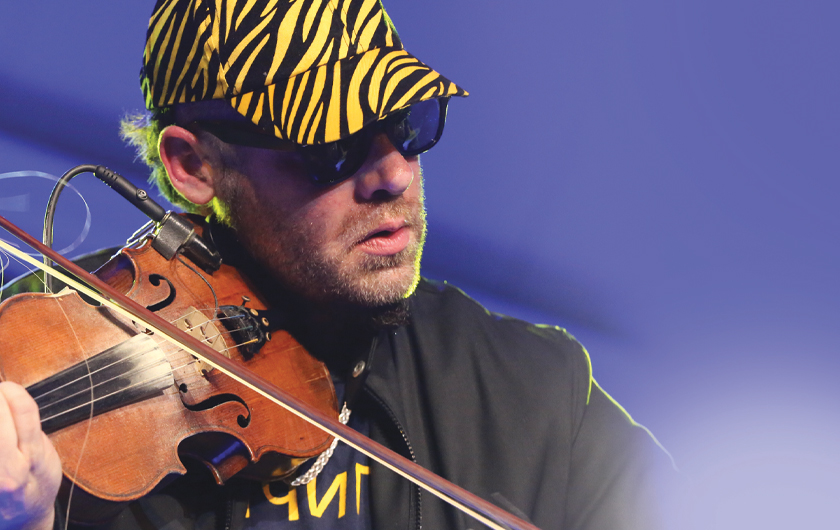 Ashley MacIsaac with Orchestra